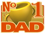 Number 1 Dad - trophy