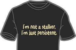 I'm not a Stalker