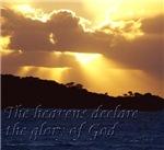 The Heavens Declare The Glory Of God sunbeams
