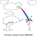 Go home, Cloud! You're Drunk!