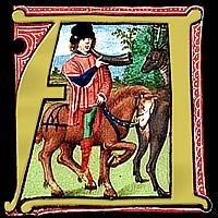 Horseman Miniature