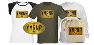 YMRNR License Plate!
