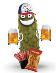 Drinkin' Buddy Pickle