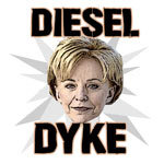 Lynne Cheney Diesel Dyke