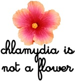 Chlymidia is not a flower