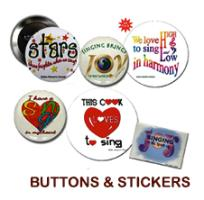 Diablo Women's Chorale Buttons, Magnets & Stickers