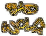 BAD WOLF Dr Who inspired Large Graffiti T-shirts &