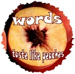 Chuck - Words taste like peaches T-shirts & Gifts