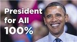 Obama: President for 100%