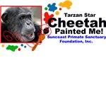 Tarzan's Movie Star Cheetah Painted Me!