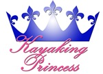 Kayaking Princess - Blue/Pink