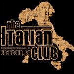 The Italian Club (distressed gold)