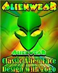 Classic Alien Design w /Logo