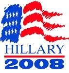 (Flag) Hillary 2008