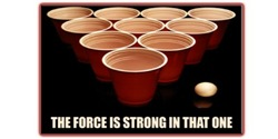 Beer Pong - The Force Is Strong