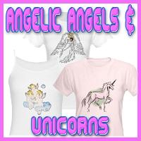 Angelic Angels & Unicorns T-Shirts & Gifts