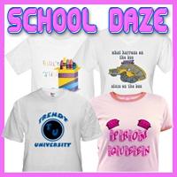 School Daze Customized T-Shirts & Gifts