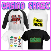 Casino Craze T-Shirts & Gifts For Gamers