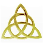 Gold triquetra, Charmed, Book Of Shadows