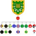 Unser Hafen officer's  badges