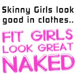 Fit girls look great naked