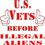 US Vets Before Illegal Aliens