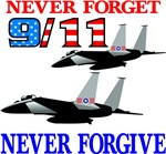Jets 9-11 Never Forget Forgive
