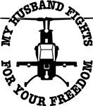 Husband Fights Freedom Helo