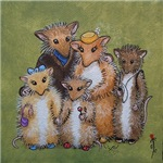 Woodhill Whiskers Mouse Family