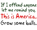 If I offend anyone