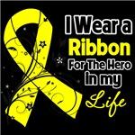 Ribbon Hero in My Life Sarcoma Shirts