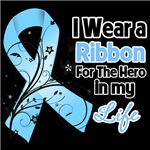 Ribbon Hero in My Life Prostate Cancer Shirts