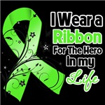 Ribbon Hero in My Life Non-Hodgkins Lymphoma Shirt