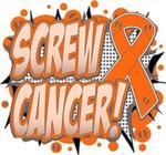 Screw Kidney Cancer Shirts