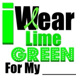 I Wear Lime Green For Lymphoma Awareness