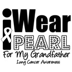 I Wear Pearl Ribbon For My Grandfather Shirts