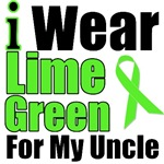 I Wear Lime Green Ribbon For My Uncle