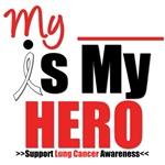 Lung Cancer Hero Pearl Ribbon Shirts & Gifts