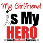 Lung Cancer Hero (Girlfriend) Shirts & Gifts