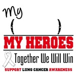 Lung Cancer Together We Will Win Shirts & Gifts