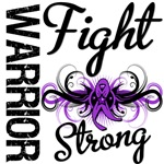 Fight Strong Pancreatic Cancer Warrior Shirts