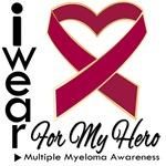 I Wear Ribbon Hero Myeloma