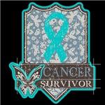 Ovarian Cancer Survivor Vintage Shirts and Gifts