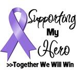 Supporting My Hero Hodgkin's Lymphoma Shirts