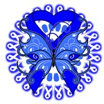 Colon Cancer Butterfly Shirts and Gifts