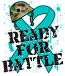 Ready For Battle Ovarian Cancer Shirts