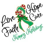 Holiday Hope Liver Cancer Shirts