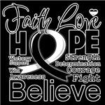 Faith Hope Carcinoid Cancer Shirts