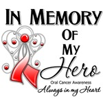 In Memory of My Hero Oral Cancer Shirts