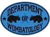 Department of Wombatology Blue